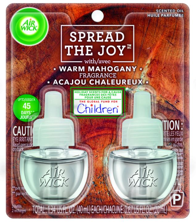 AIR WICK® Scented Oil - Warm Mahogany (Spread The Joy™)