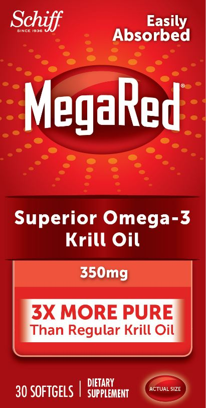 MegaRed® Superior Omega-3 Krill Oil - 350 mg Softgels