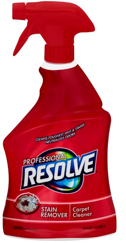Professional RESOLVE Stain Remover Carpet Cleaner Photo
