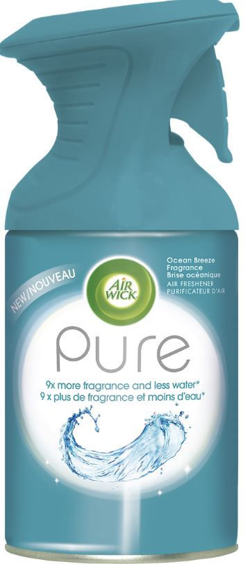 AIR WICK® Pure Air Freshener Aerosol - Ocean Breeze Fragrance (Canada)