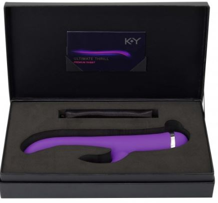 K-Y® Ultimate Thrill Premium Rabbit Vibrator