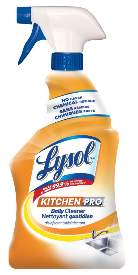 LYSOL Kitchen Pro Daily Cleaner Canada Photo