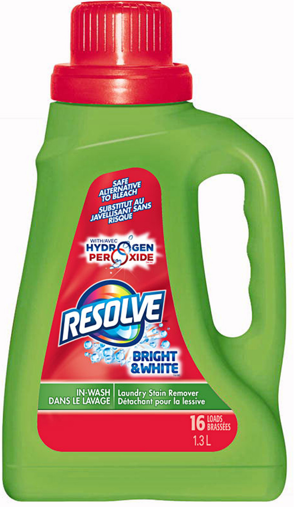 RESOLVE® Bright & White In-Wash Stain Remover