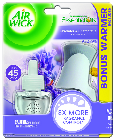 AIR WICK Scented Oil Starter Kit  Lavender  Chamomile Photo