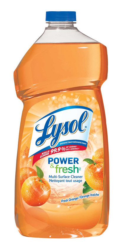LYSOL Power  Fresh MultiSurface Cleaner  Orange Canada Photo