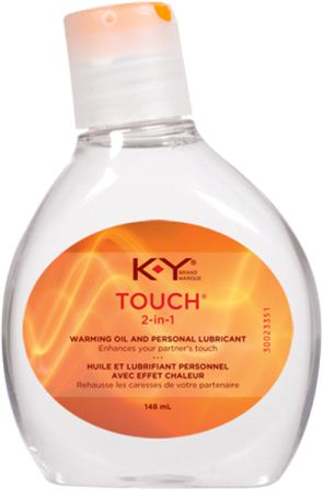 K-Y® Touch® 2-In-1 Warming Oil And Personal Lubricant (Canada)