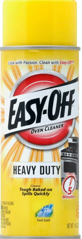 EASY-OFF® Heavy Duty Oven Cleaner - Fresh Scent