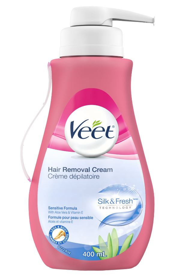 Veet Silk Fresh Hair Removal Cream Sensitive Formula Canada