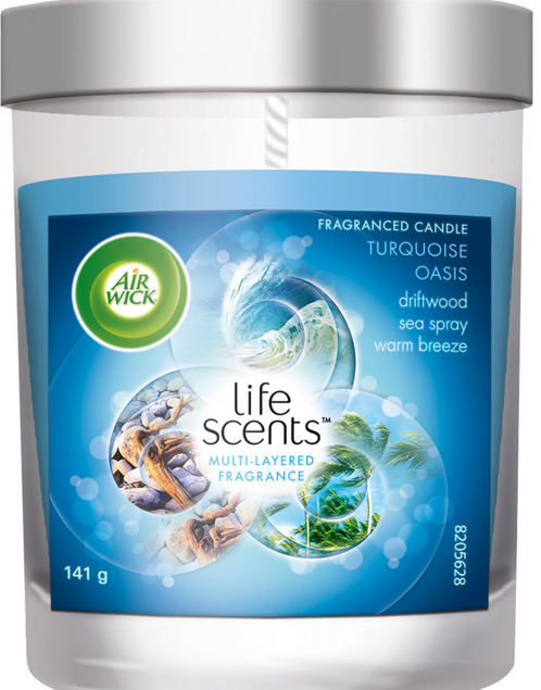 AIR WICK® Fragranced Candle - Turquoise Oasis (Life Scents) (Canada)