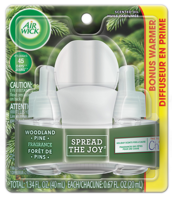 AIR WICK Scented Oil  Woodland Pine Spread The Joy Canada Photo