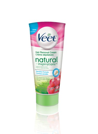 VEET Natural Inspirations Hair Removal Cream  Sensitive Formula Canada Photo
