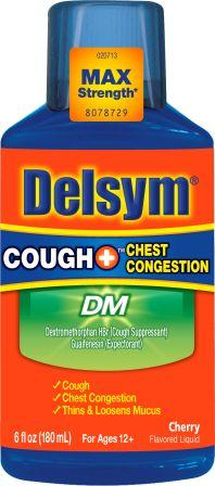DELSYM® COUGH+® Chest Congestion DM - Cherry