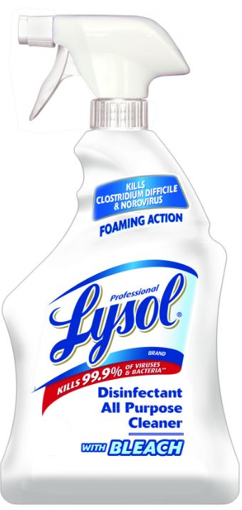 Professional LYSOL All Purpose Cleaner  Bleach Photo