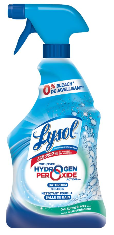 lysol® max foamer bathroom cleaner