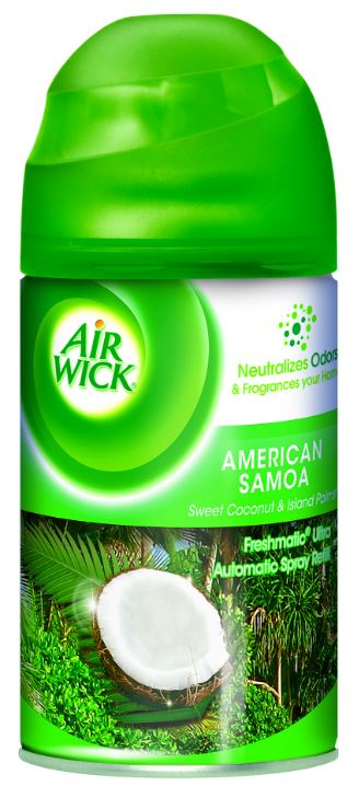 AIR WICK FRESHMATIC Ultra  American Samoa Sweet Coconut  Island Palms  Photo