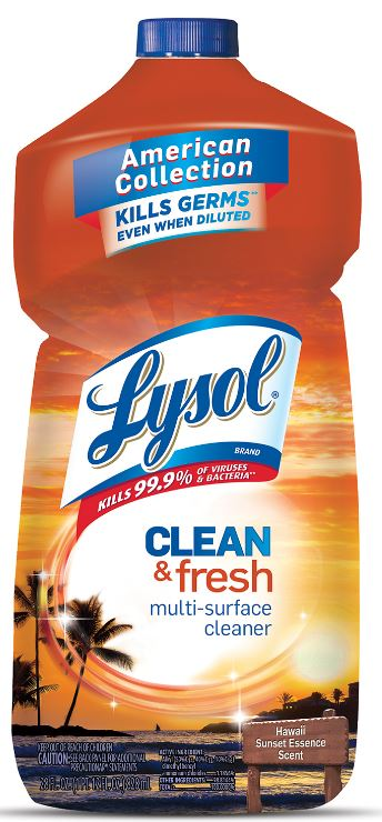 LYSOL® Clean & Fresh Multi-Surface Cleaner - Hawaii Sunset Essence
