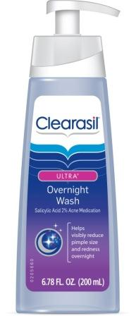 CLEARASIL® Ultra® Overnight Wash (US)
