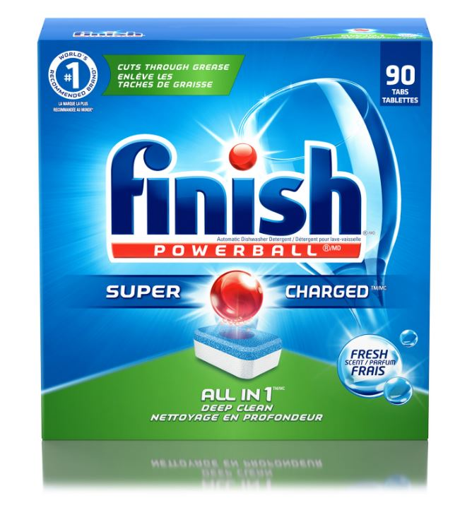 FINISH® Powerball® All In 1 Tabs - Fresh Scent (Canada)