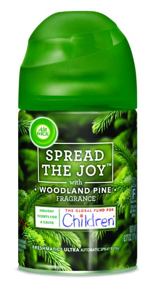 AIR WICK® FRESHMATIC Ultra - Woodland Pine (Spread The Joy™)