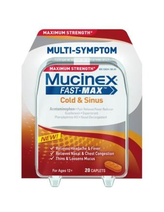 MUCINEX FASTMAX Cold  Sinus Caplets Photo