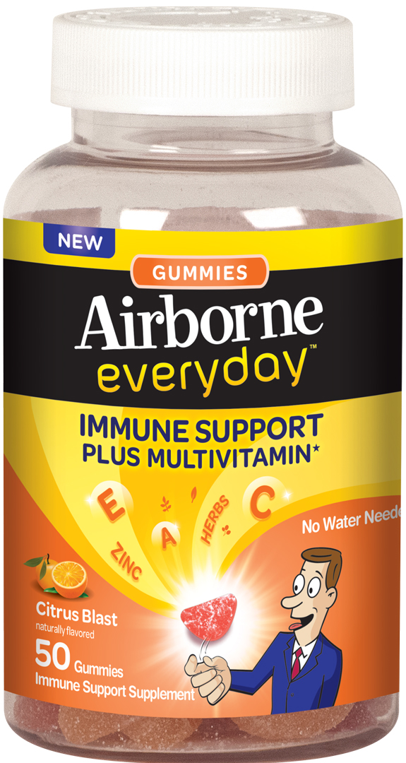 AIRBORNE® Everyday Gummies Citrus