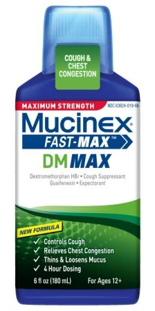 MUCINEX® FAST-MAX™ DM Adult Liquid