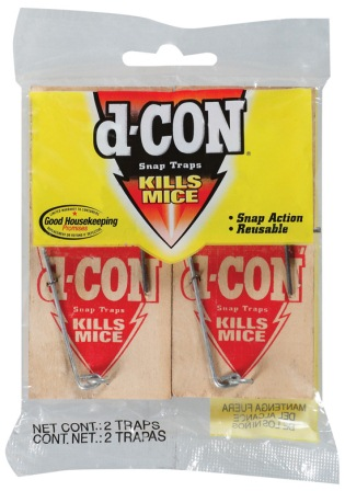 d-CON® Wooden Mouse Snap Trap