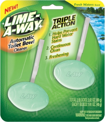 LIME-A-WAY® Automatic Toilet Bowl Cleaner - Fresh Waters
