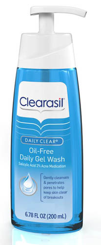 CLEARASIL® DAILY CLEAR® Oil-Free Daily Gel Wash (Discontinued)