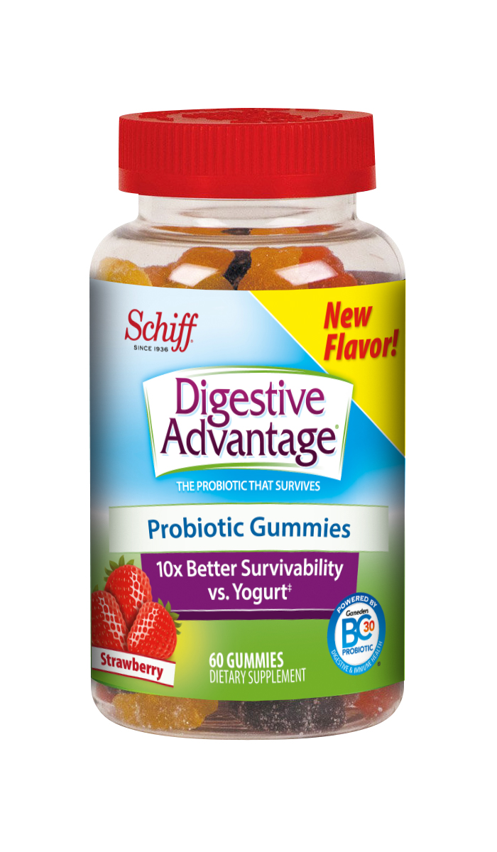 DIGESTIVE ADVANTAGE® Probiotic - Gummies Strawberry