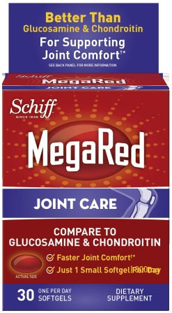 MegaRed® Joint Care Softgels