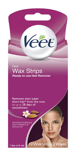 VEET® Ready-To-Use Wax Strips - Face