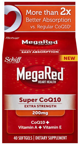 MegaRed® Super CoQ10 Extra Strength - 200 mg Softgels