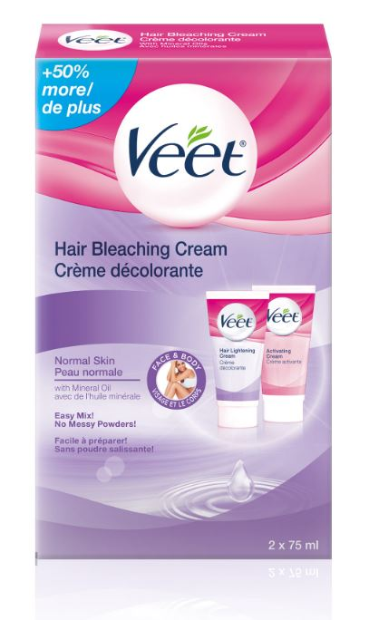VEET Hair Bleaching Cream  Activating Cream Canada Photo