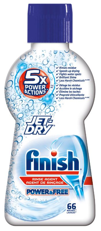 FINISH JetDry Power  Free Rinse Agent Canada Photo