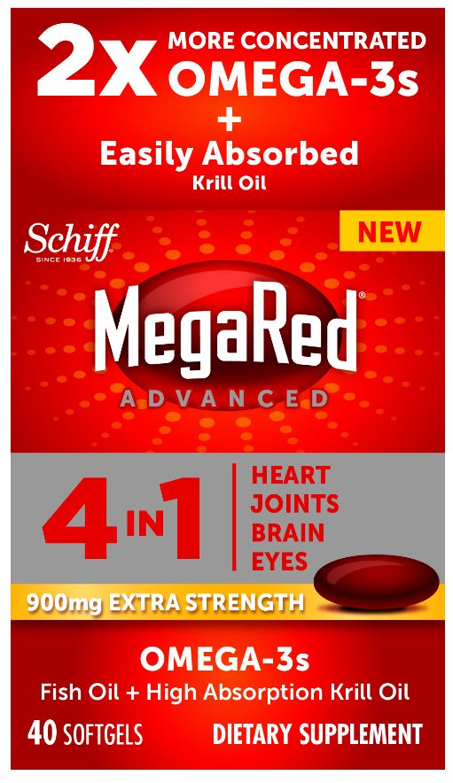 MegaRed® Advanced 4 In 1 Extra Strength - 900 mg