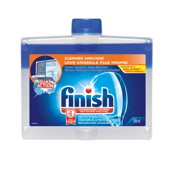 FINISH® DUAL ACTION™ Dishwasher Cleaner - Fresh Scent (Canada)