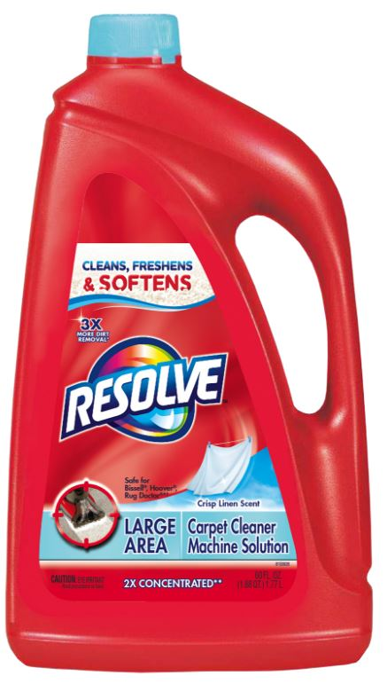 RESOLVE® Large Area Carpet Cleaner Machine Solution - Crisp Linen Scent