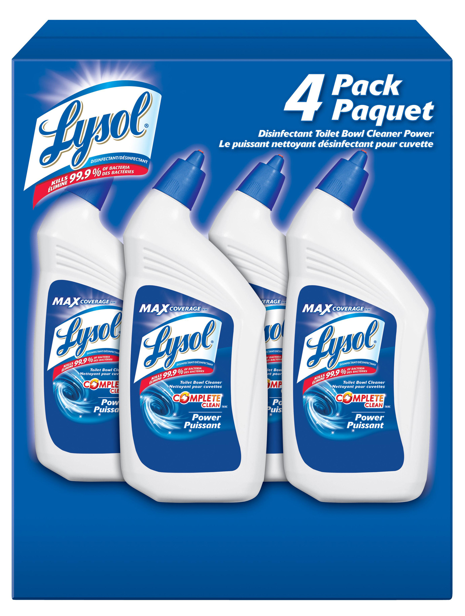 LYSOL® Complete Clean™ Power - Toilet Bowl Cleaner (Canada)