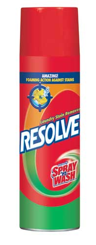RESOLVE® Laundry Stain Remover (aerosol) (Discontinued)