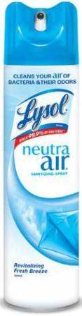LYSOL® NEUTRA AIR® Sanitizing Spray - Revitalizing Fresh Breeze