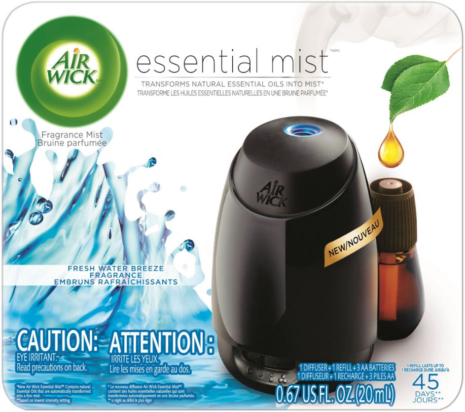 AIR WICK Essential Mist Starter Kit  Fresh Water Breeze Photo