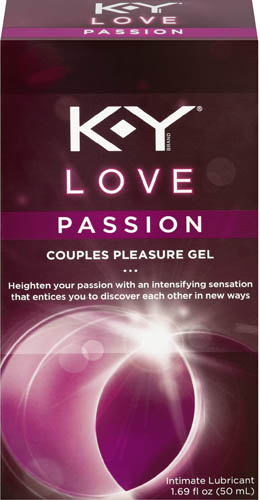 K-Y® Love Passion Couples Pleasure Gel