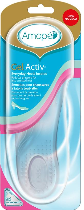 AMOPE® GelActiv™ Everyday Heels Insoles