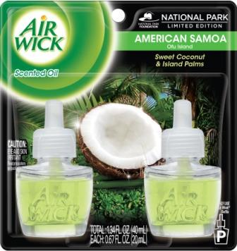 AIR WICK® Scented Oil - American Samoa Sweet Coconut & Island Palms
