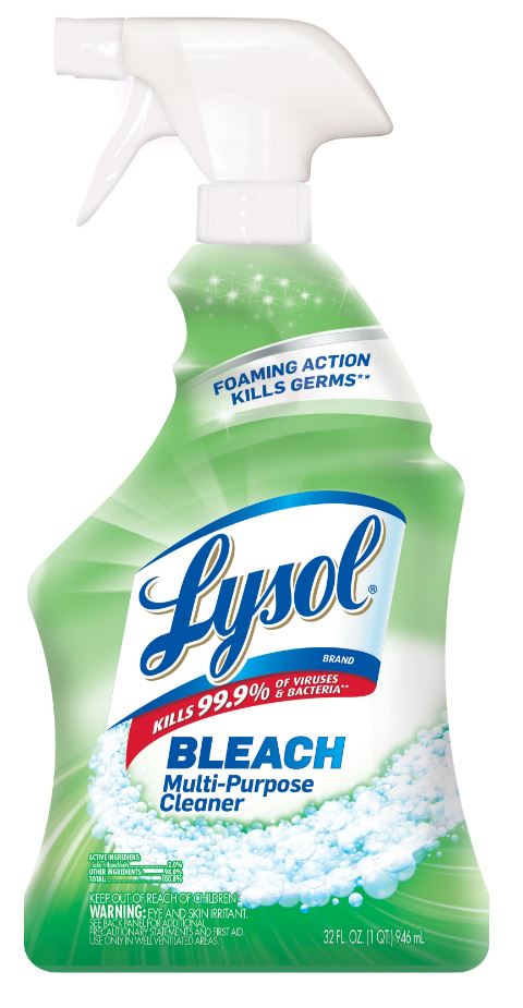 LYSOL Power White  Shine  MultiPurpose Cleaner with Bleach Photo