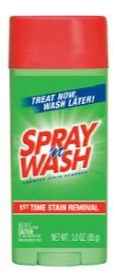 SPRAY N WASH Laundry Stain Remover  Stain Stick Photo