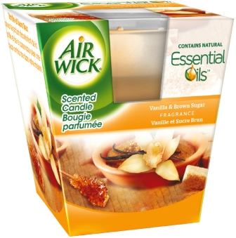 AIR WICK Scented Candles  Vanilla  Brown Sugar 35 oz Photo