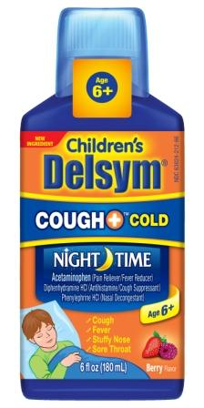 DELSYM® Children's COUGH+™ Cold Night Time Liquid - Berry