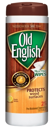 OLD ENGLISH® Furniture Wipes (Discontinued)